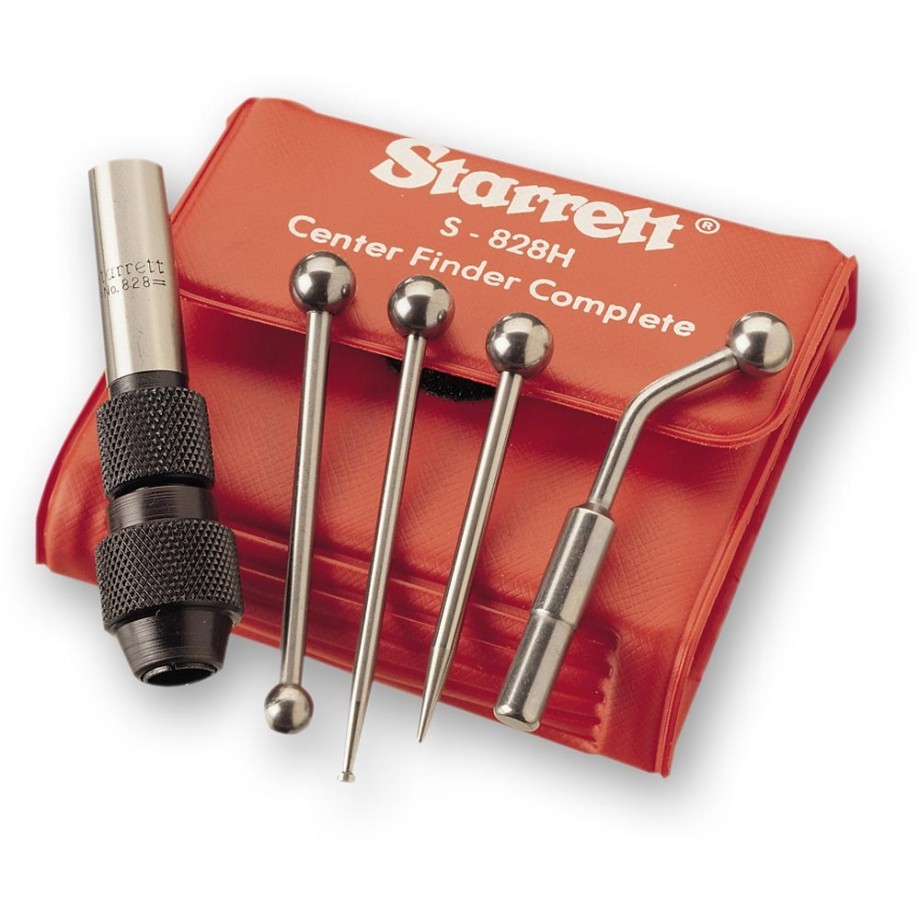 Starrett S828HZ Centre Finder Set