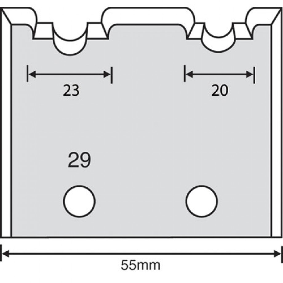 Whitehill Limiter Profile - 29 (Pair)