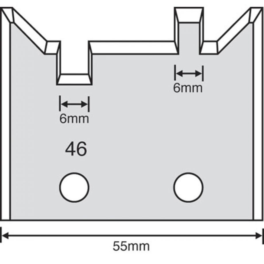 Whitehill Limiter Profile - 46 (Pair)
