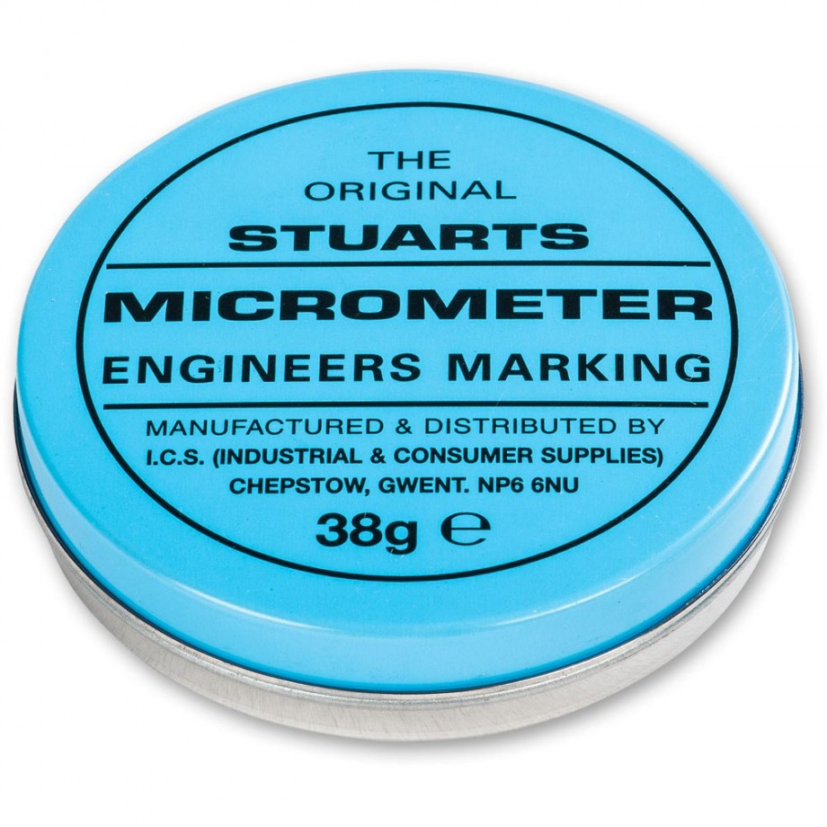 Tin of Micrometer Blue