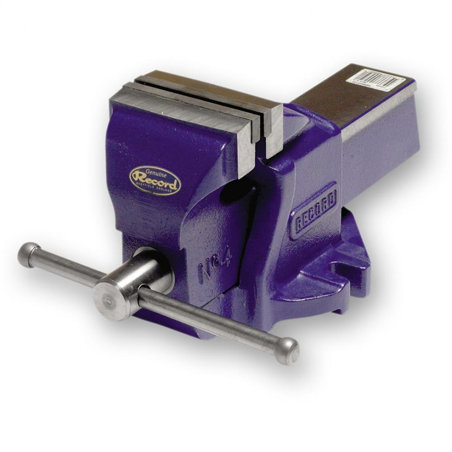 Record Irwin No.4 Mechanics Vice - 115mm(4.1/2 in)