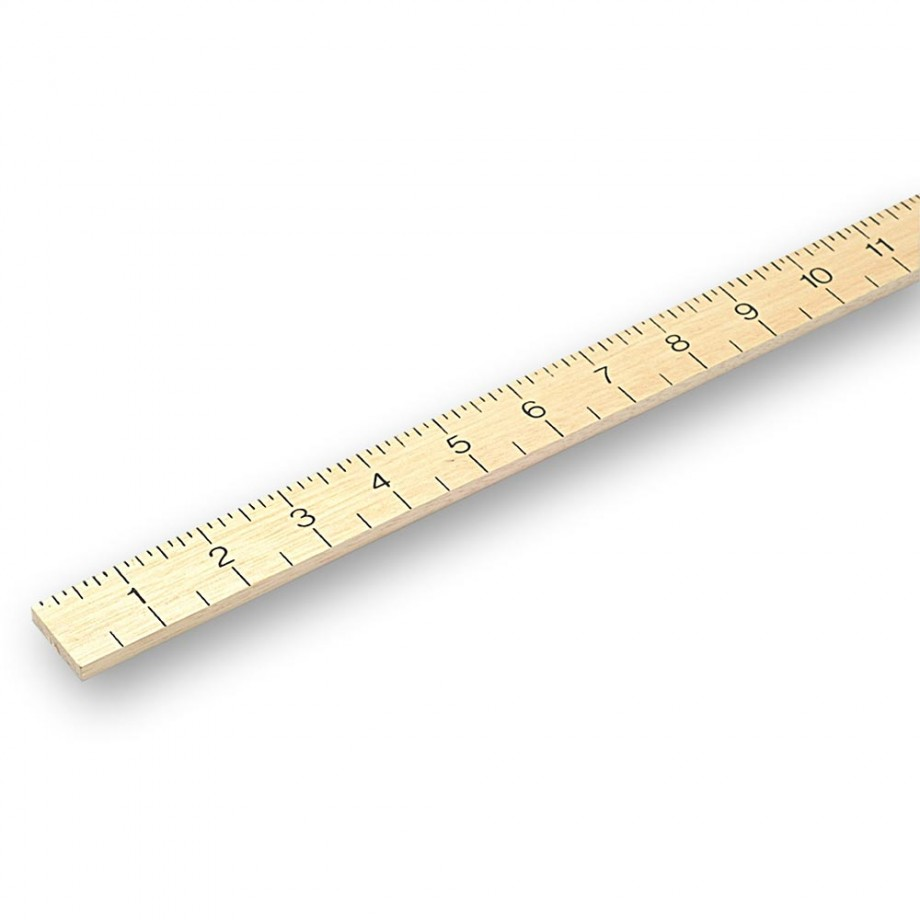 RST Hardwood Metre Stick