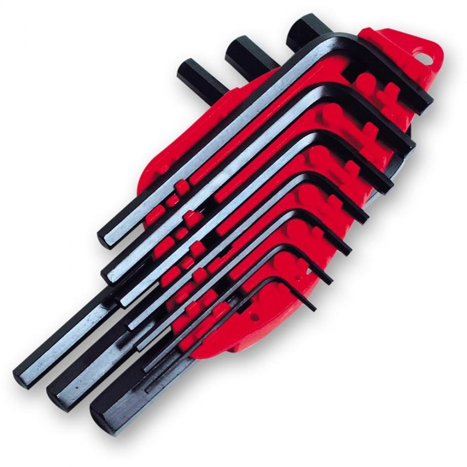 Stanley 10 Piece Metric Hex Key Set