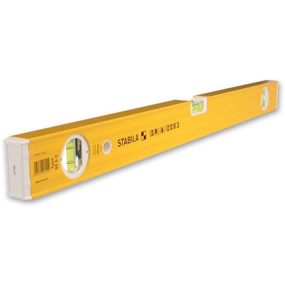 Stabila 80A-2 Double Plumb Level - 1,500mm(59in)