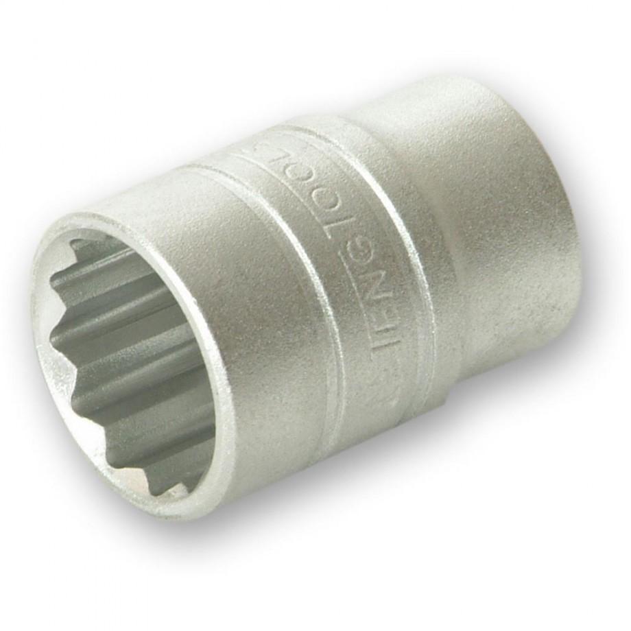 Teng Socket Bi-Hexagon 12 Point 1/2in Drive 13mm