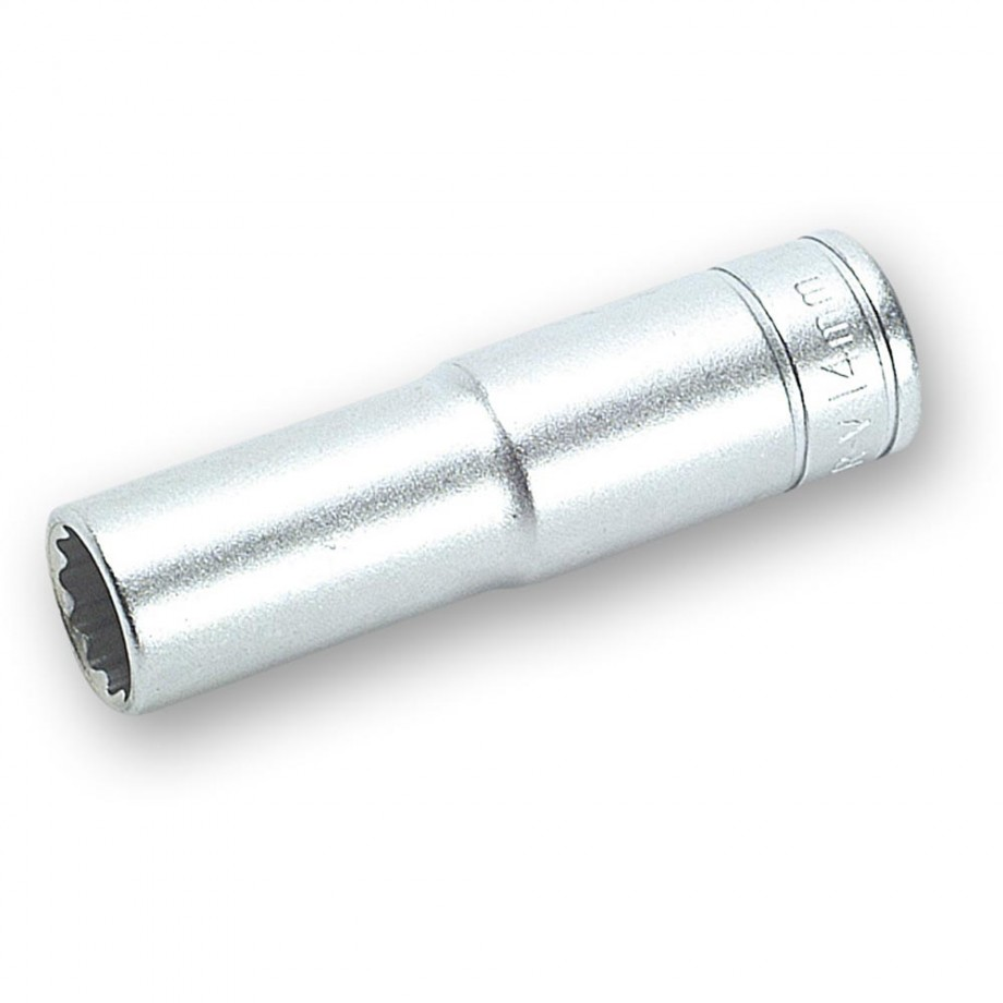 "Teng 1/2"" Drive 12 Point Bi-Hex Deep Sockets"