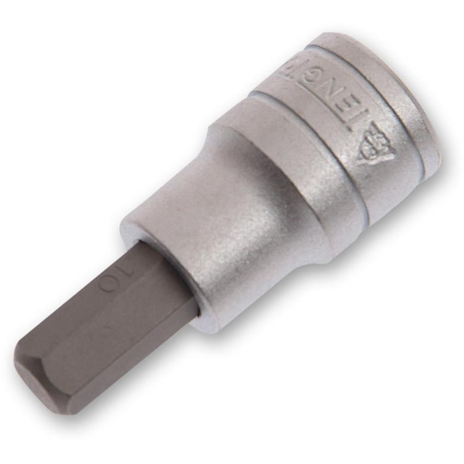 Teng Hex S2 Socket Bit 1/2in Drive 5mm