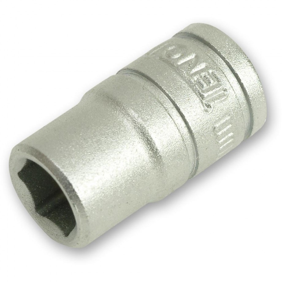 Teng Socket Hex 6 Point Regular 1/4in Drive 13mm