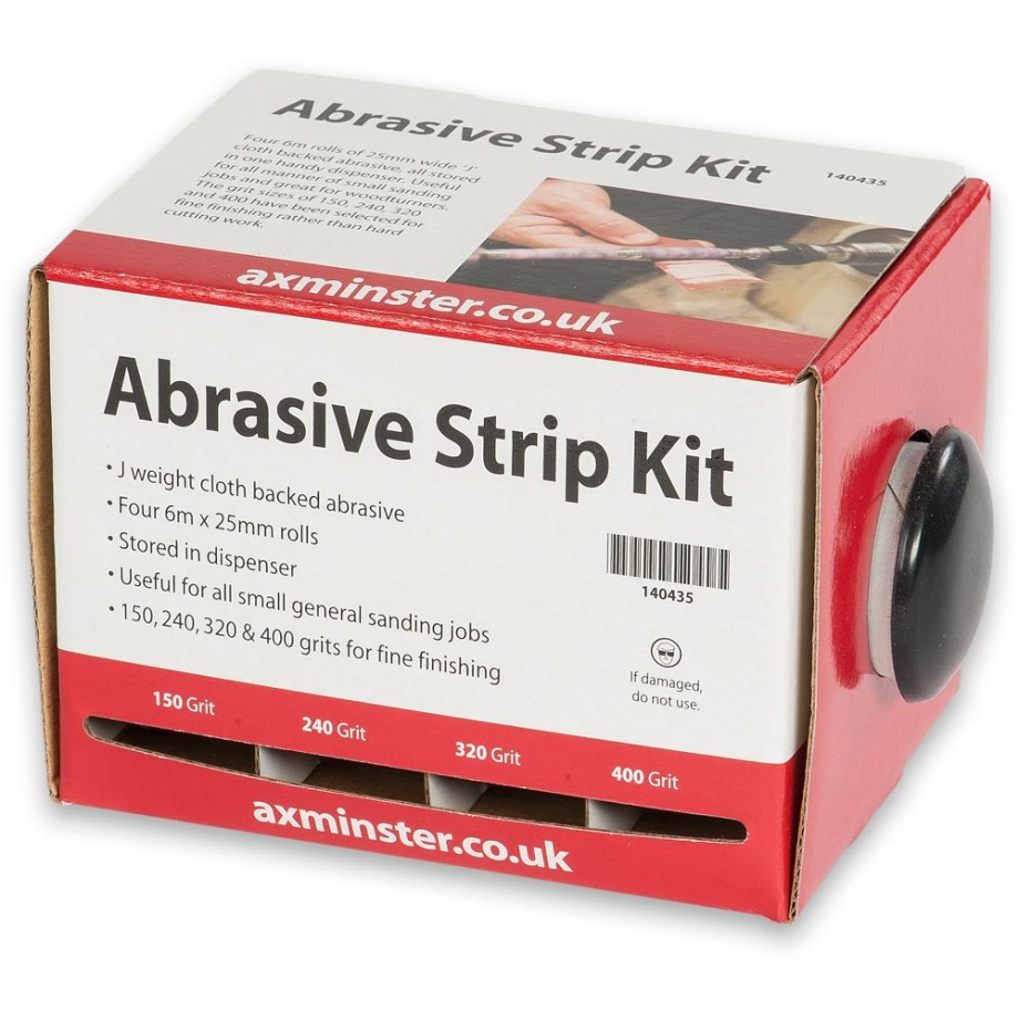 Axminster Abrasive Strip Kit