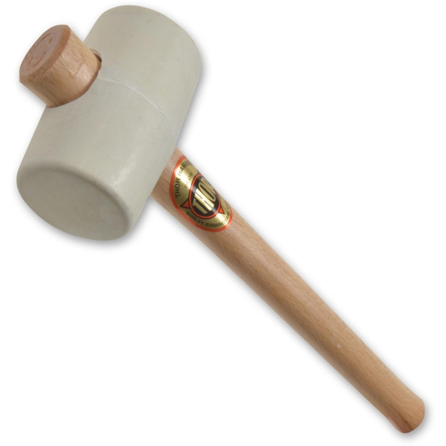Thor 952W White Rubber Mallet - 54mm(2.1/8in), 375g(13oz)