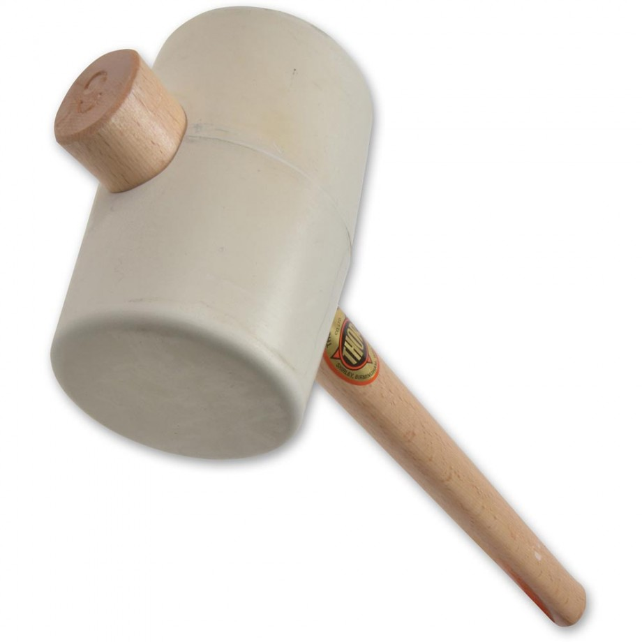 Thor 957W White Rubber Mallet - 90mm(3.1/2in), 1450g(51oz)