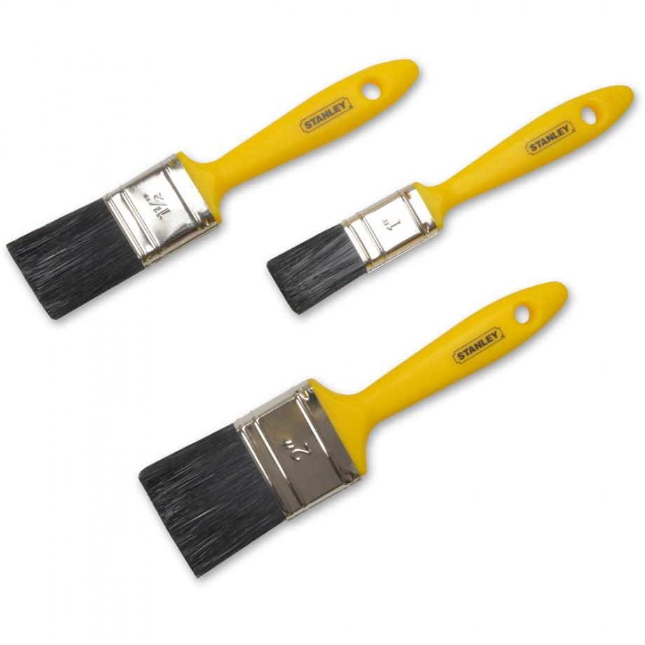 Stanley 3 Piece Hobby Paint Brush Set