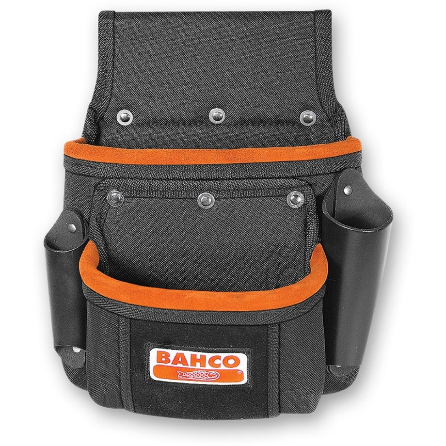 Bahco Two Pocket Fixings Pouch