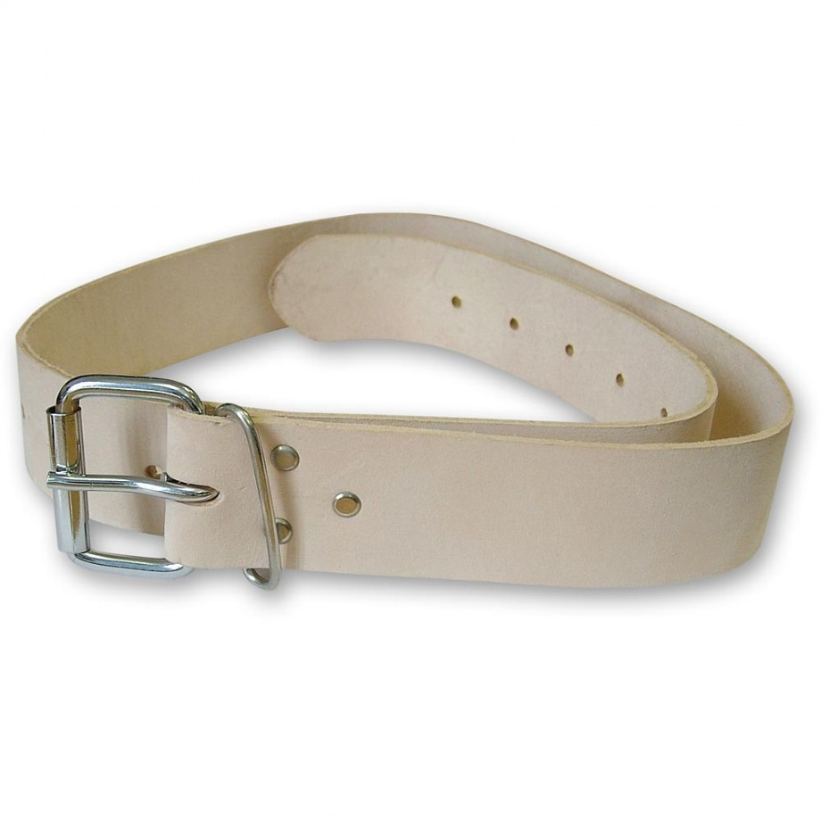 Faithfull Heavy-Duty Leather Belt