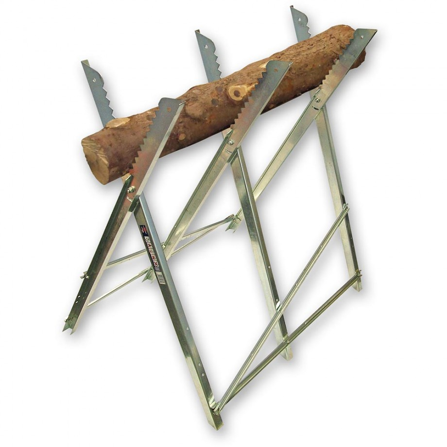 Faithfull Saw Horse Folding Trestle Galvanised