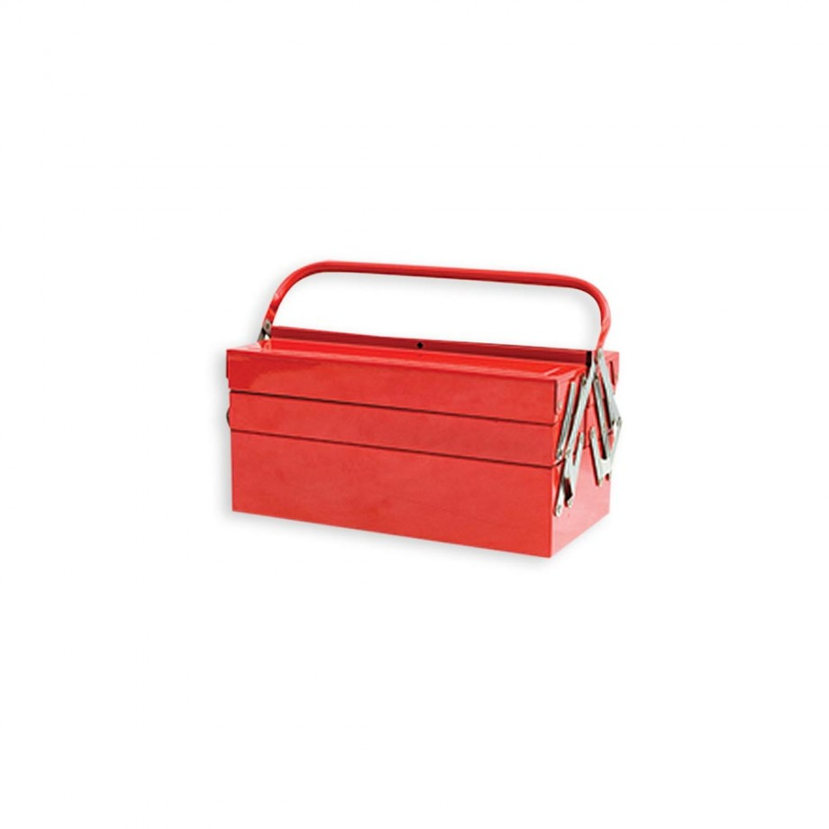 Faithfull Metal Cantilever Tool Box 49cm (19in) 5 Tray