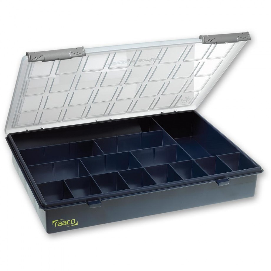 Raaco A4 Profi Assorter Service Box 15 Fixed Compartments