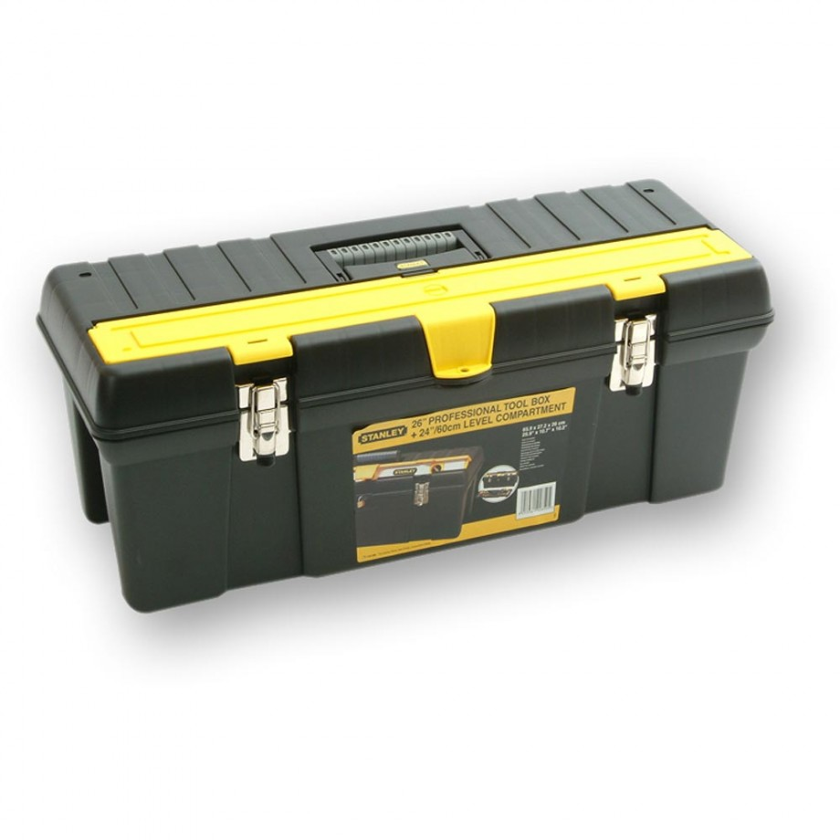 Stanley Toolbox with Level Compartment