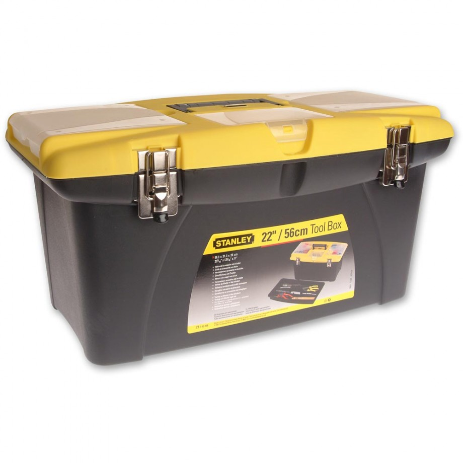 Stanley Jumbo Toolbox 19in + Tray