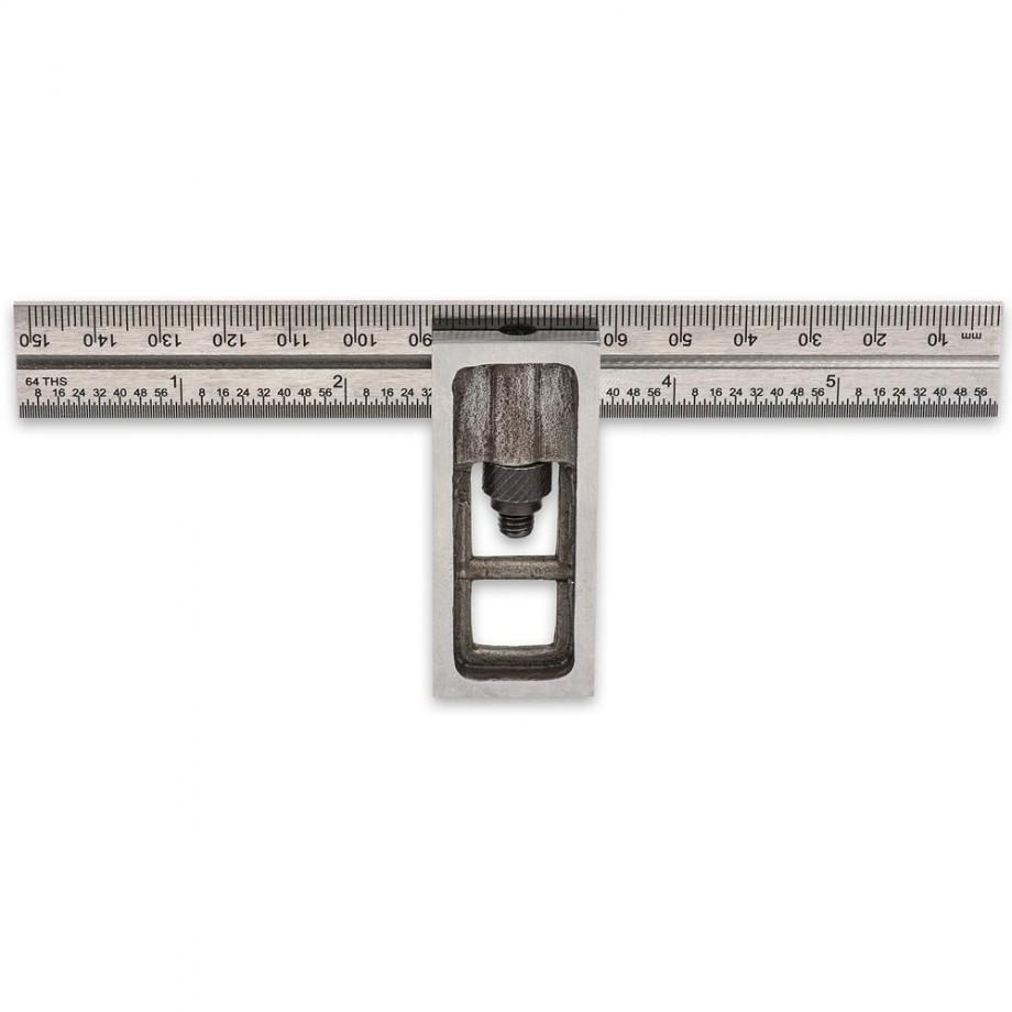 """Axminster Workshop Sliding Square - 150mm(6"""")"""