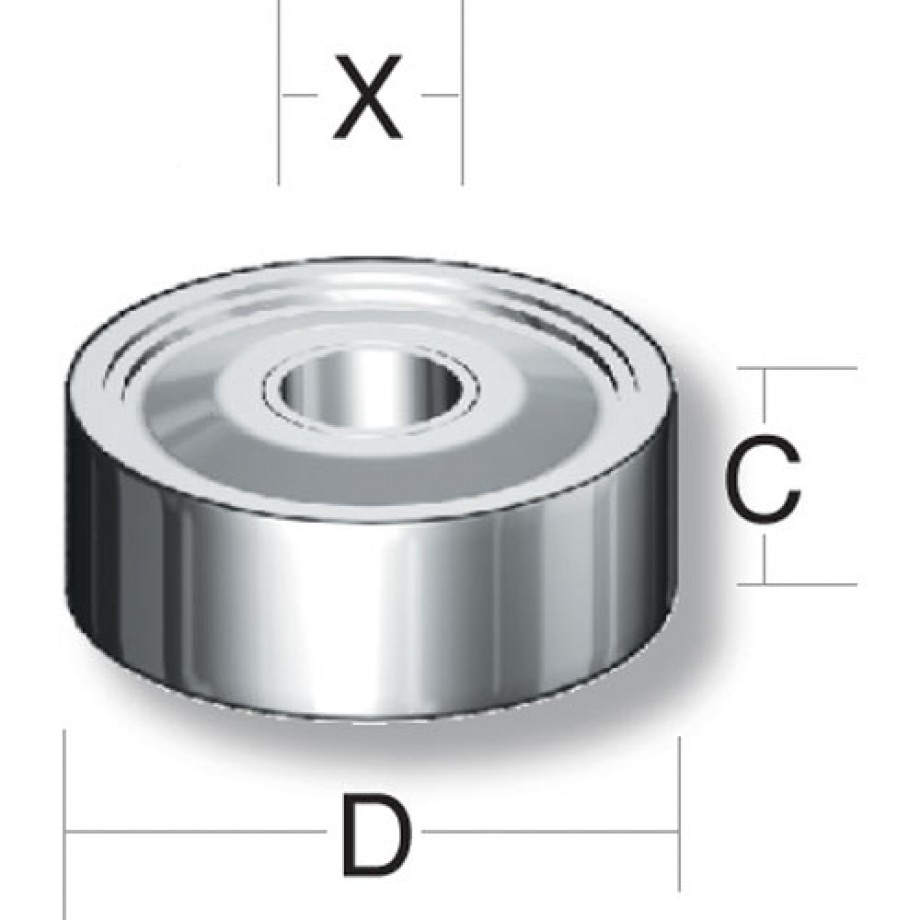 Axminster Bearing 6201 2RS