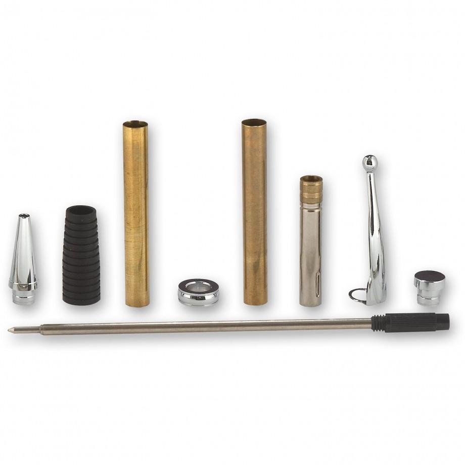 Craftprokits Comfort Pen Kit - Chrome Plated Finish