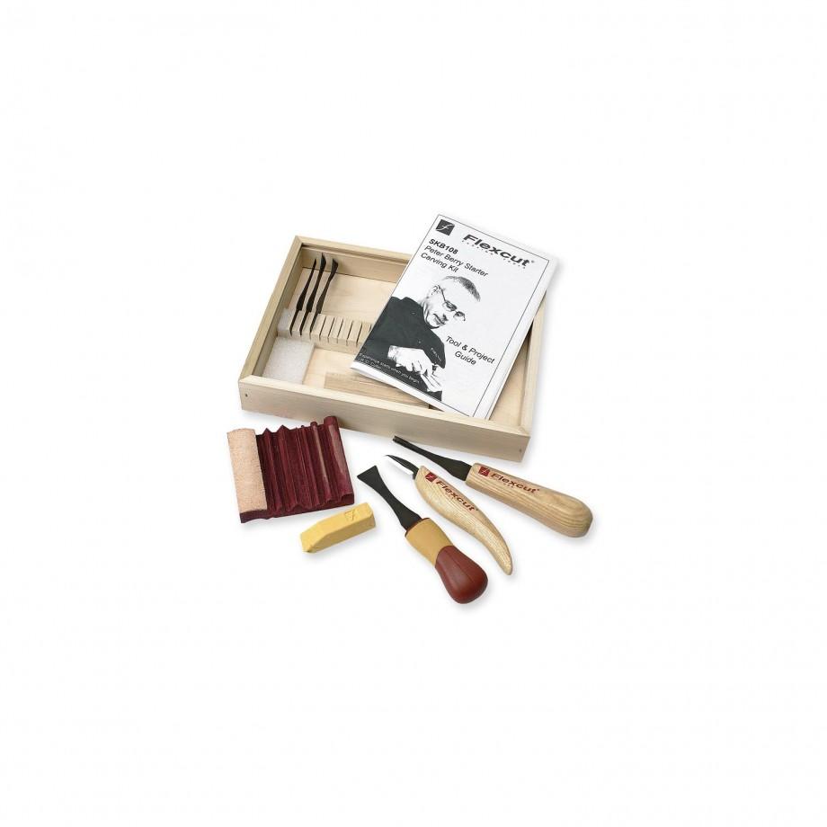 Flexcut SKB108 10 Piece Carving Starter Set