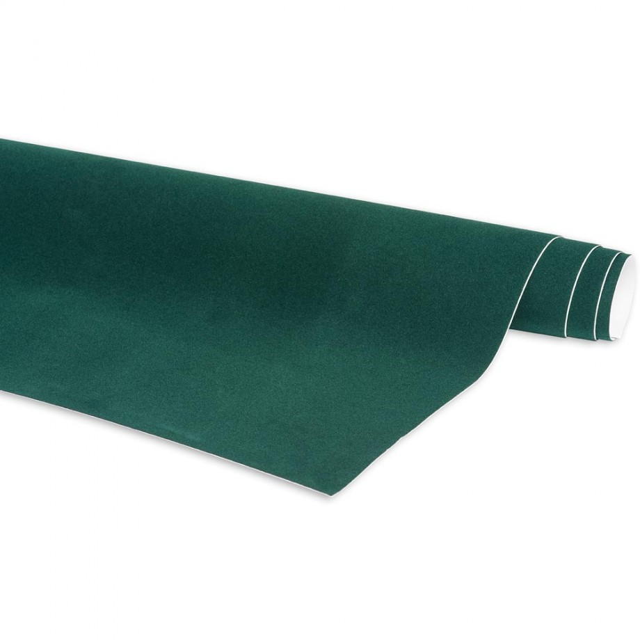 Craftprokits Crushed Velvet Roll - Green