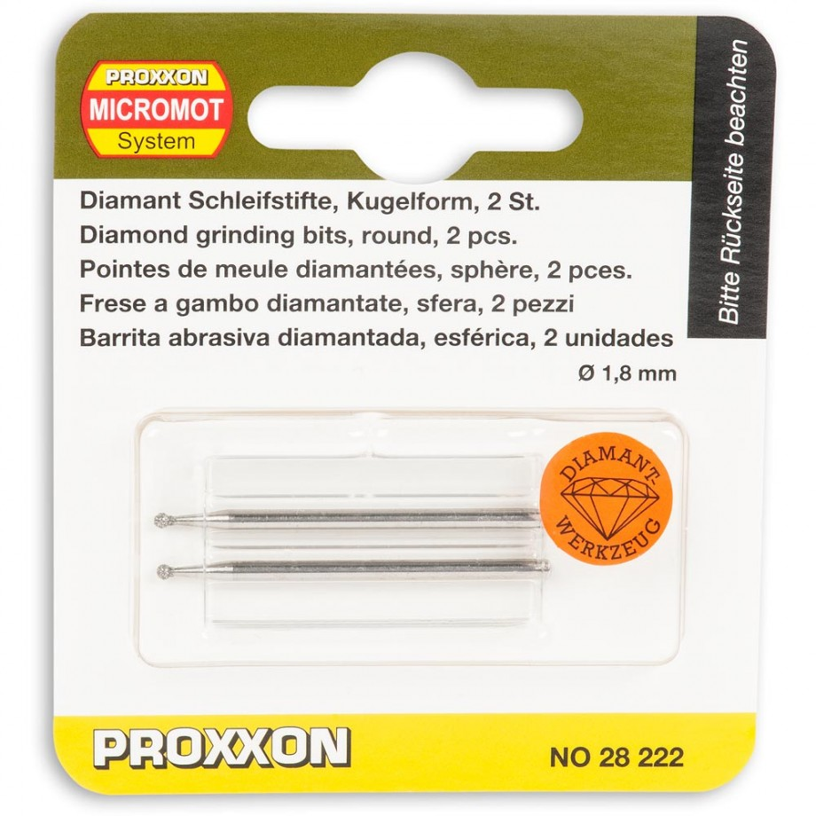 Proxxon Diamond Cylinder 5.0 x 1.8mm