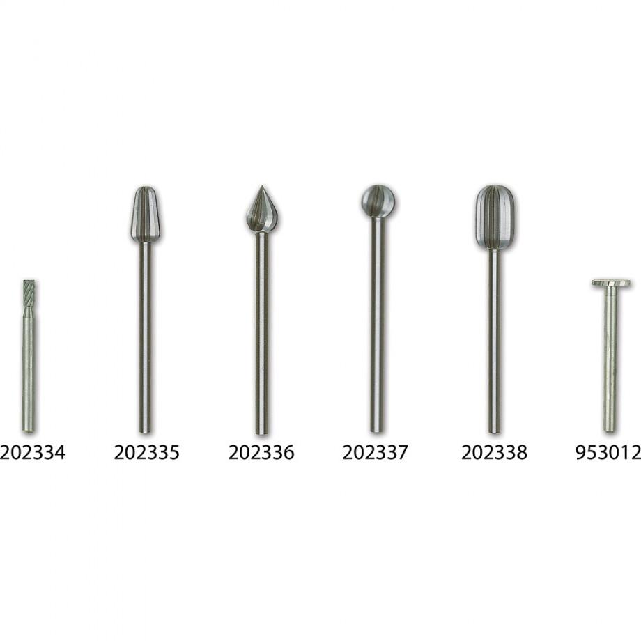 Proxxon High Speed Steel Individual Cutters  (Pkt 2)