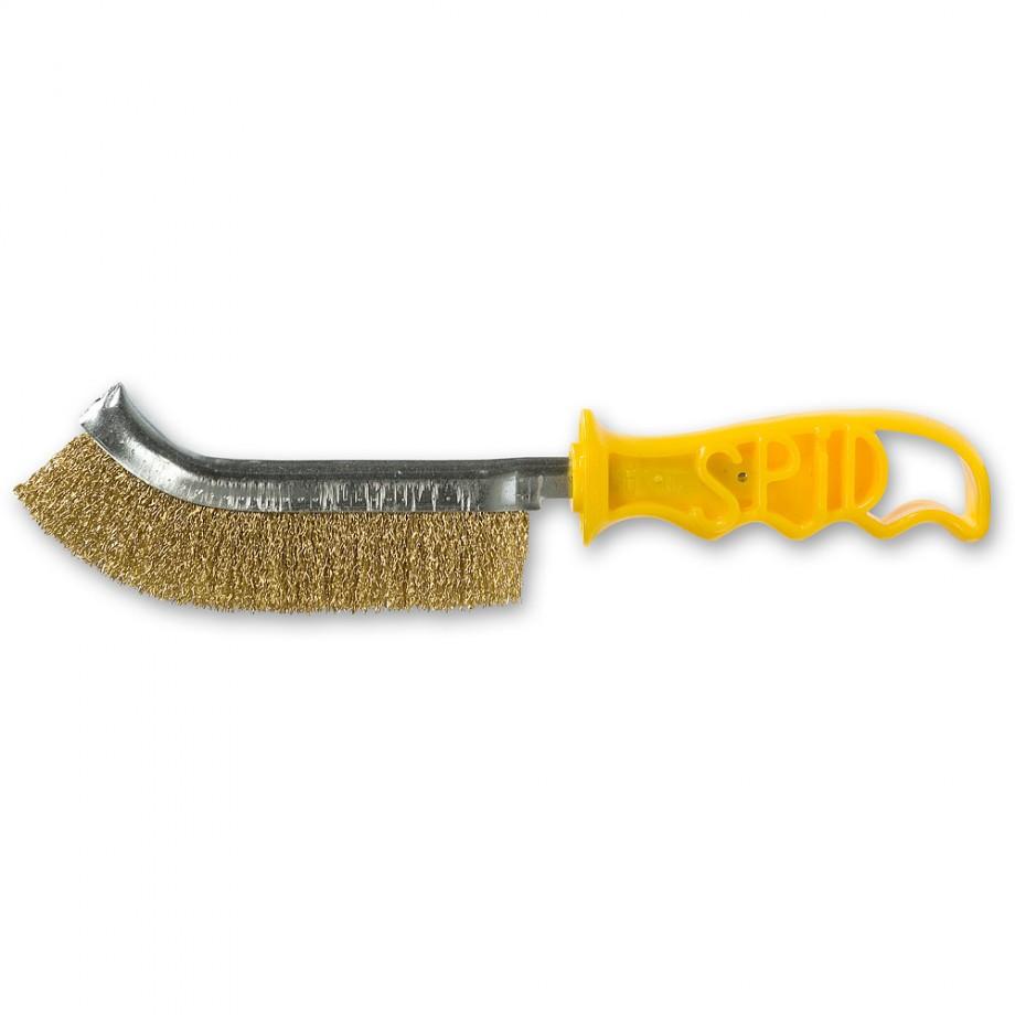 Spid Brush - Pure Brass