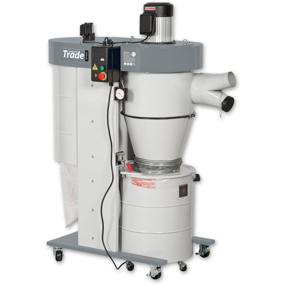 Axminster Trade AT123CE/UB-2200VECK 2HP Cyclone Extractor