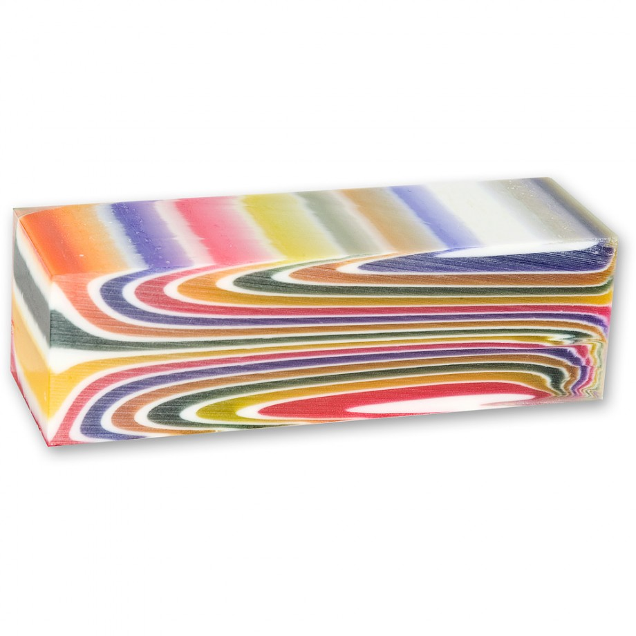 Craftprokits Multicoloured Stripe Polyester Project Blank
