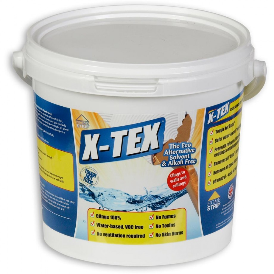Home Strip X-TEX Textured Coatings Remover