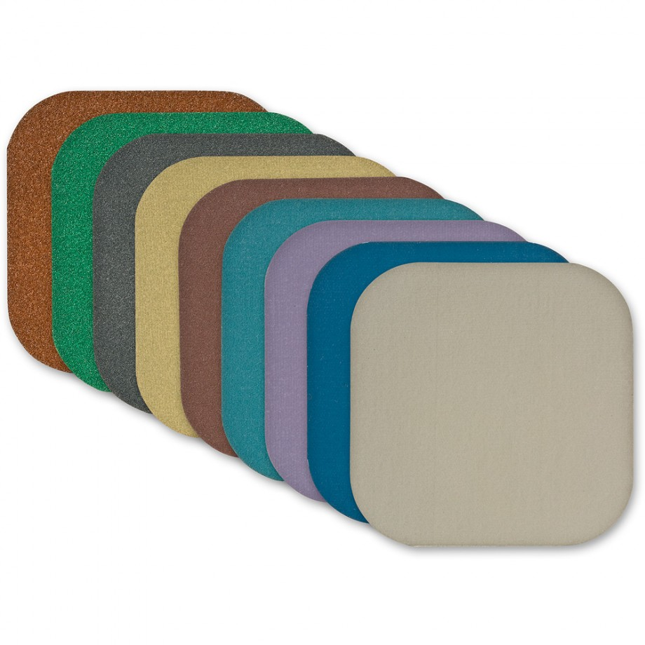 Micro-Mesh Soft Touch Pad Abrasives - Sanding Blocks & Pads ...