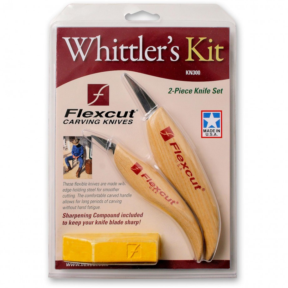 Flexcut Whittler's Kit