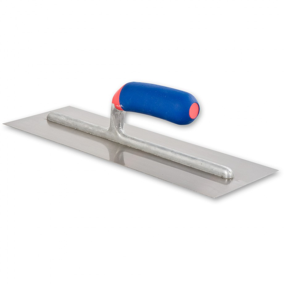 RST Stainless Steel Float with Soft Grip Handle - 350 x 120mm