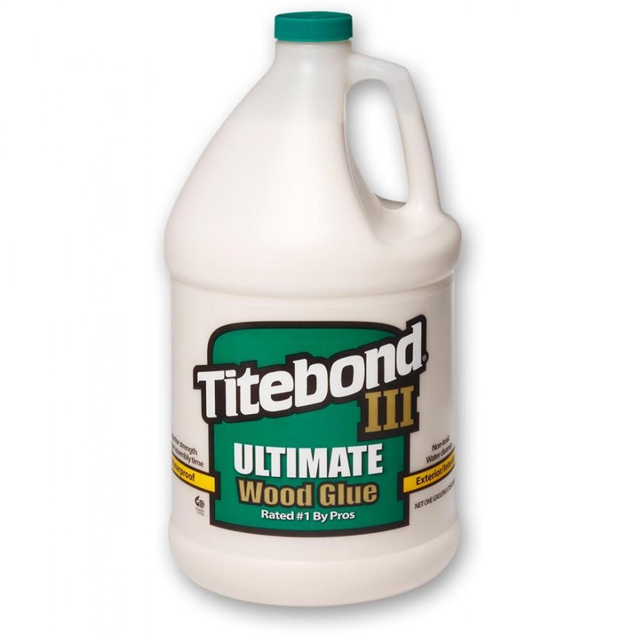 Titebond III Waterproof Wood Glue - 3.8litres (1 US Gall)