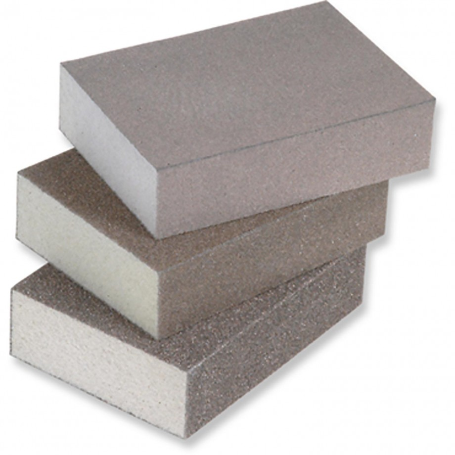 Hermes Four-Sided Sanding Block 100 Grit