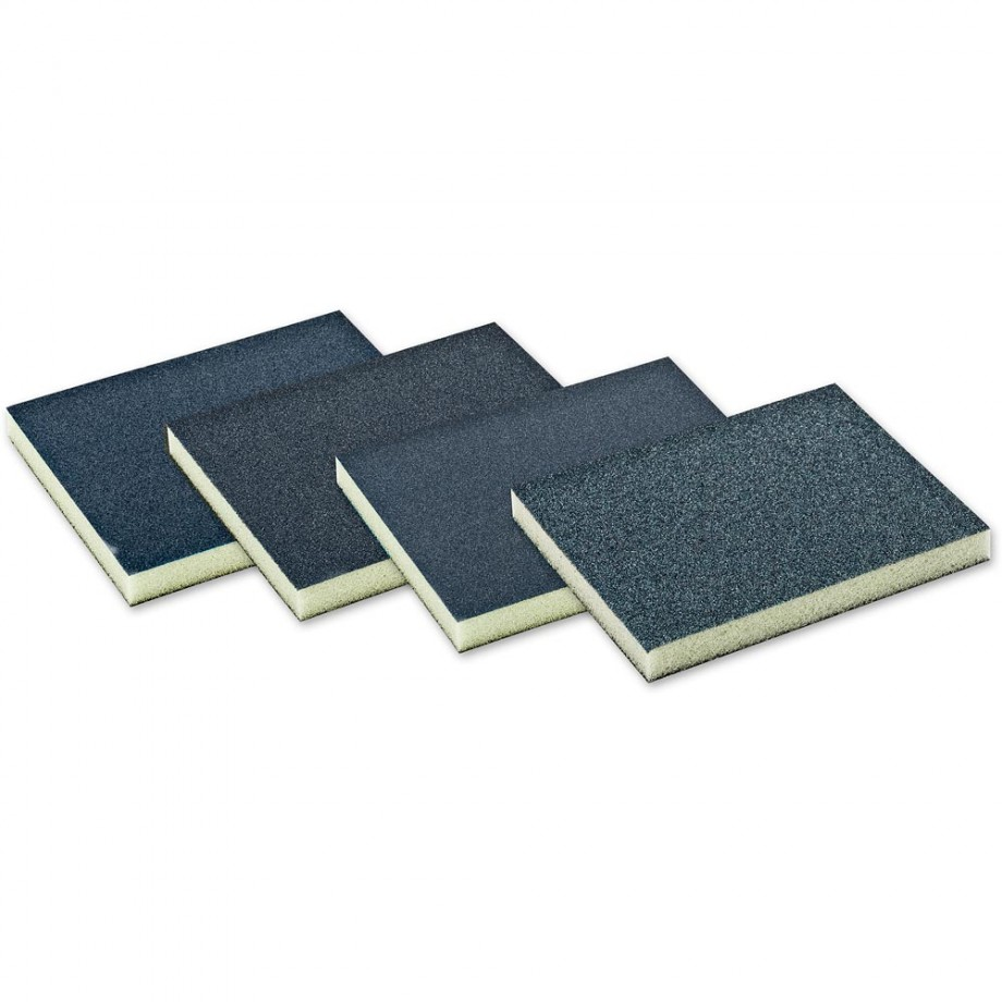 Double-Sided Sanding Sponge 220 Grit