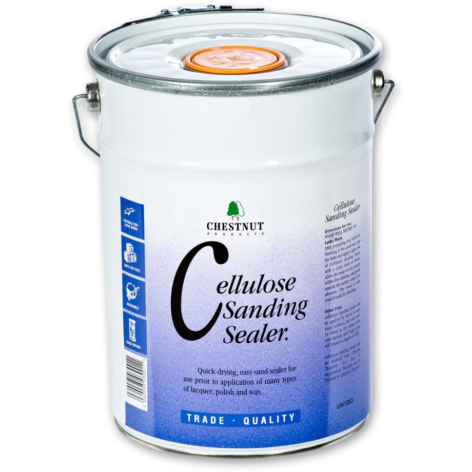 Chestnut Cellulose Sanding Sealer - 5 litre