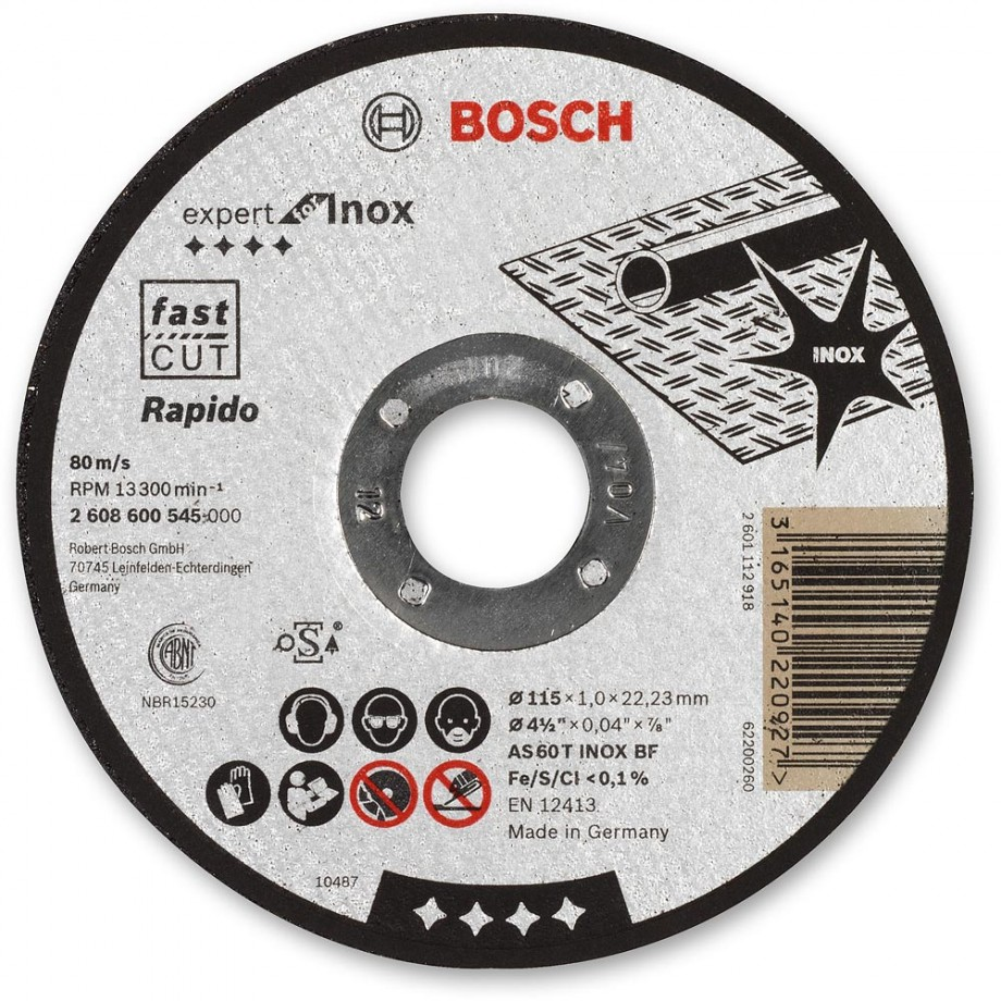 Bosch Ultra Thin Metal Cutting Discs Cutting Amp Grinding