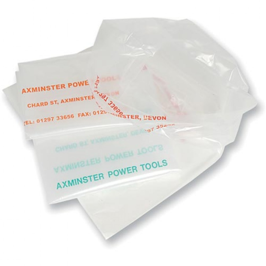 Axminster Dust Extractor Waste Sack - 760mm x 1,065mm Blue (Pkt 10)