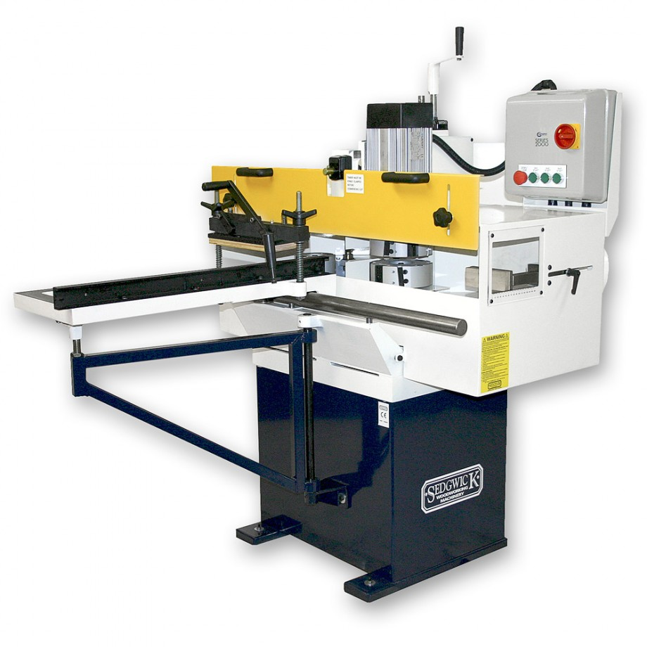 Sedgwick TESH 3 Head Tenoner - Tenoning Machines - Spindle Moulders & Tenoners - Machinery ...