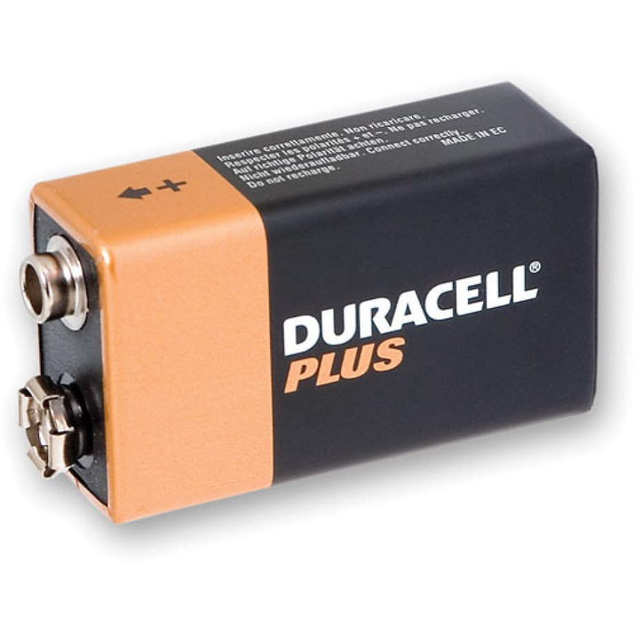 Duracell Battery 9V - PP3 (MN1604) (each)