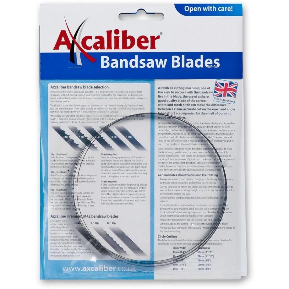 """Bandsaw Blade 3,480mm(137"""") x 1 1/4"""" 3TPI"""