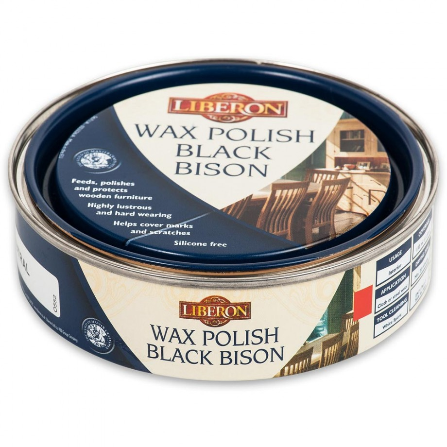 Liberon Black Bison Paste Wax - Neutral 150ml