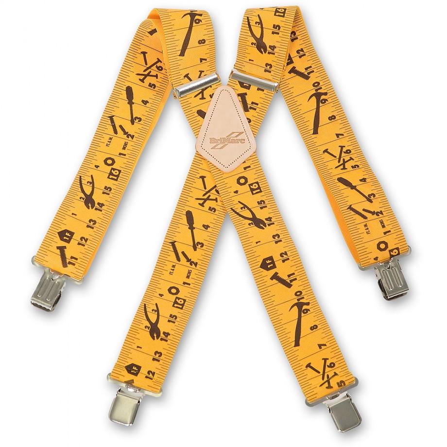 Yellow Tape Measure Braces