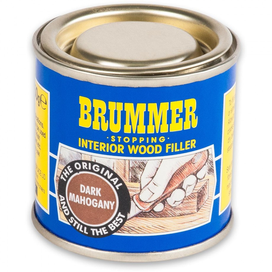 Brummer Stopping Interior - Dark Mahogany 250g