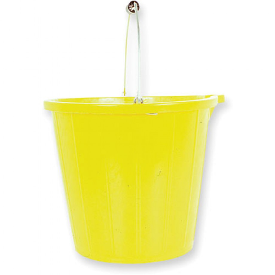 Plasterer's/Builder's Yellow Bucket
